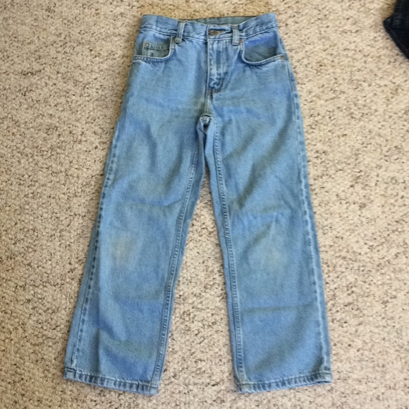 Nwt Boys Faded Glory Denim Relaxed Jeans Sz 12H